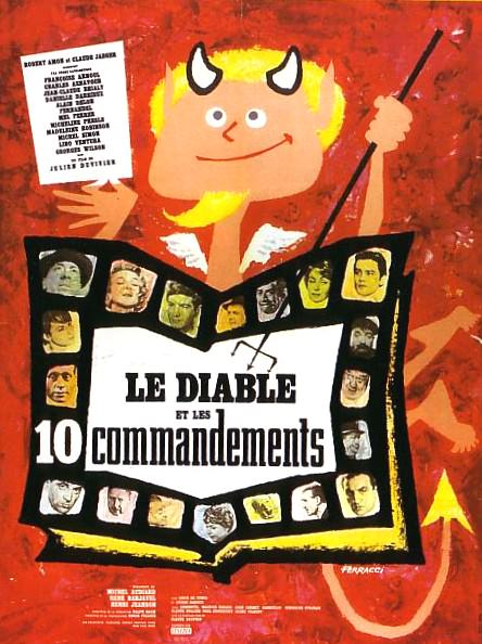 Дьявол и десять заповедей /Le Diable et les dix commandements (Devil and the Ten Commandments)/ - Обложка