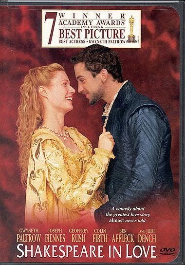 shakespeare in love essays