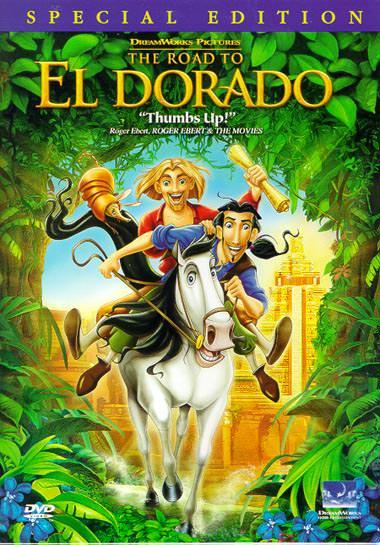 Дорога на Эльдорадо /Road to El Dorado, the/ - Обложка.